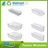 6개 피스 냉장고와 냉장고 손잡이, 공간을%s 가진 쌓을수 있는 저장 조직자 궤