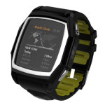 다기능 Smart Watch Support GPS Position, Heart Rate Monitor, SIM Card, 등등