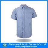 Het in het groot Overhemd van de Koker van de Vrije tijd van Mens van de Fabrikanten van de Kleding Korte