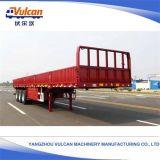 Dei 3 assi di trasporto rimorchio a base piatta speciale del carico del camion semi (personalizzato)