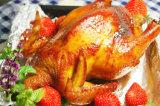 folha de alumínio do agregado familiar do produto comestível de 8011-O 0.0105mm para a galinha de Roasting