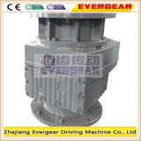 R Series Helical Geared Motor con Vertical Type