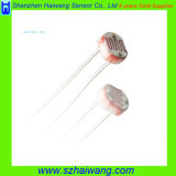 Response 빠른 Dia. 5mm Photoconductive Resistor Sensor (HW-MJ55 시리즈)
