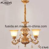 Illuminazione di vetro lussuosa di cristallo Bronze del lampadario a bracci per la decorazione D-6131/3 del salone
