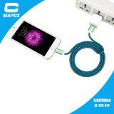 Оплетка поручая кабель USB молнии Apple