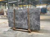 Mármol de plata del negro del mármol del visión de la plata de la buena calidad del mármol del visión con el mármol blanco de la vena/la losa de mármol al por mayor del proyecto de edificio de la losa