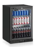 Einzelne Glastür-Rückseiten-Stab-Kühlvorrichtung mit Cer, CB, RoHS