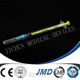 3 de Medische Plastic Beschikbare Spuit van het deel met Naald
