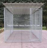 販売またはスタック可能折られた電流を通された鋼鉄によって溶接される記憶のケージのための犬の犬小屋か犬のケージ