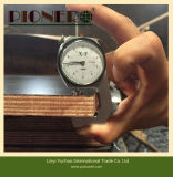 Le film de faisceau d'eucalyptus a fait face au contre-plaqué pour le marché de la Thaïlande