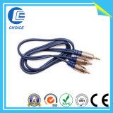 3.5male Kabel zum Mann2rca