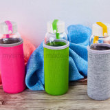 400ml Glass Water Bottle met Cover