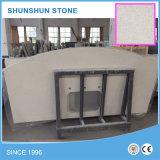 Bbeige/isola Ivory/cachi del controsoffitto della pietra del quarzo per la mobilia della cucina