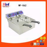كهربائيّة عميق [فرر] ([وف-062]) (مزدوجة دبّابة) [س] مخبز تجهيز [بّق] تموين تجهيز طعام آلة مطبخ تجهيز فندق تجهيز تحميص آلة