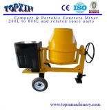 400L Towable Diesel o Gasoline Engine Concrete Mixer