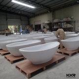 Baignoire autonome extérieure solide blanche de Matt de projet du Vietnam