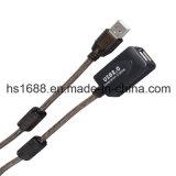 Tipo do USB 2.0 pés ativos do cabo de extensão 30 um Meters/100