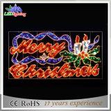 Праздничный Glittery свет веревочки СИД через света мотива письма рождества улицы (OB-KL-42004)