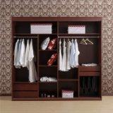 Melamin MDF-einfacher Entwurfs-Garderoben-Verkauf