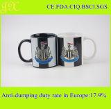 Kundenspezifische keramische Kaffeetasse des Abziehbild-Drucken-11oz für Förderung