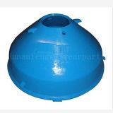 Mangan-Stahl-Kegel-Zerkleinerungsmaschine-Filterglocke-Zwischenlage-Kegel-Zerkleinerungsmaschine konkav und Umhänge