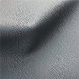 Cuero de la PU de Microfiber de la sensación del cuero genuino para los muebles caseros (666#)