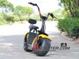 Autoped 2 van Citycoco 60V Elektrische Autoped Seat/1000W voor het Volwassen Hete Verkopen