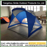Sun-Schutz-blaues gestreiftes kampierendes Abdeckung-Strand-Lager-Dach-Zelt