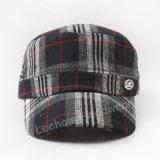 卸し売り小切手の冬の暖かい軍の軍隊の帽子か帽子