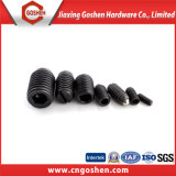 Черные setscrews гнезда Gr12.9 с закругленным концом с ограниченной линзообразной поверхностью DIN916