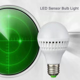 luz de bulbo inteligente del sensor de movimiento de 4W LED
