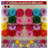 Pompoms POM (W1079) del papel de tejido de las decoraciones del cumpleaños del banquete de boda