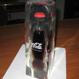 Visualización transparente del sostenedor de las bebidas espirituosas del licor de la resina