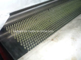 Granulatoire de refroidissement de fonte de courroie adhésive chaude d'acier inoxydable