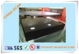 450 hoja rígida brillante negra del PVC de Mircomn 3*6