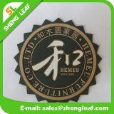 安い高品質の柔らかいゴム製シリコーンのコースター(SLF-RC039)