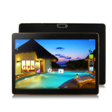 9.6 PC da ROM 16GB Front 0.3MP Rear 2.0MP 1280*800IPS Bluetooth 4.0 Android 4.4 Tablet de Core 3G WCDMA RAM 1GB do quadrilátero da polegada