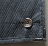 Cubierta Zippered no tejida reciclada plegable personalizada del juego del bolso de ropa de los PP