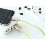 I5를 위한 Quality 높은 Alloy Shell Braided Charging USB Cable