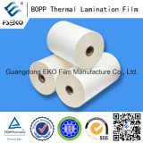 18mic BOPP Plain Film con EVA Glue per Lamination