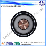 Copper Conductor High Voltage Electric Power Cable