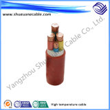 내화성 내화성이 있는 XLPE 절연제 PVC 칼집 고압선