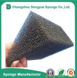 Ouvrir la mousse noire de filtre à huile de véhicule d'éponge d'unité centrale de cellules