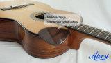 사발 Cutway 매력적인 특별한 모양 스페인 고아한 기타