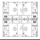 Construction en acier de Multi-Histoires en tant qu'hôtel de luxe de restauration