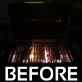 L'indicatore luminoso della griglia del barbecue con 10 LED luminoso eccellente illumina gli indicatori luminosi versatili resistenti del BBQ del tempo durevole per cuocere esterno