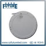 12W SMD2835 175*175mm rundes LED Flachbildschirm-Licht