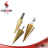 3PCS 4-12/4-20/4-32mm Step Drill Bits Höhenflossenstation Power Drills Tools