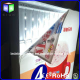 Frame di alluminio 3p Fabric Poster LED Light Box Sign per Advertizing Billboard