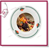 8 '' Kante Plate mit Design von Green Strawberry durch Mejorsub
